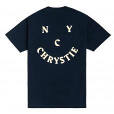 Camiseta Manga Corta Chrystie New York Smile Logo Azul