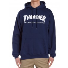 Sudadera Thrasher Skate Mag Azul