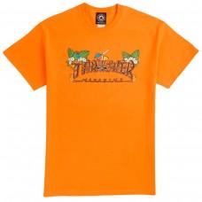 Camiseta Manga Corta Thrasher Tiki Naranja