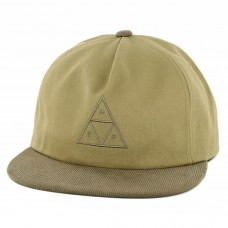 Gorra HUF Triple Triangle Khaki