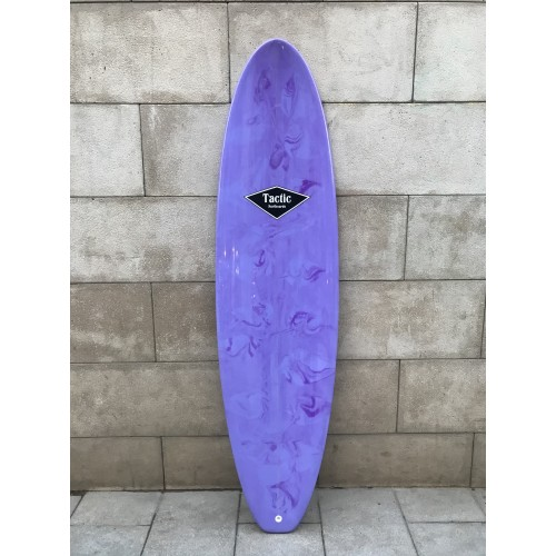 Tabla Surf Evolutiva Epoxy Tactic 7'2 Lila