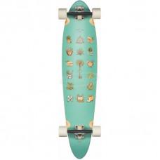 Longboard Completo Globe Pinner Classic Half Cut 40''