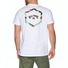 Camiseta Manga Corta Billabong Access Tee Blanca
