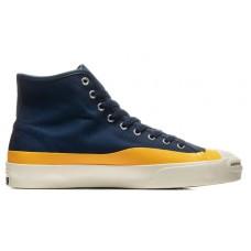 Zapatillas Converse Jack Purcell Pro Navy Azules Amarillas