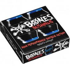 Gomas Skate Bones Soft Negras Azules