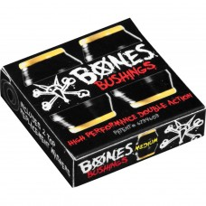 Gomas Skate Bones Medium Negras Amarillas