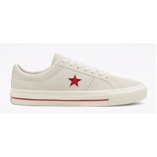 Zapatillas Converse One Star Pro Blancas Rojas