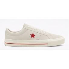 Zapatillas Converse One Star Pro Blancas Rojas