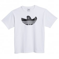 Camiseta Manga Corta Adidas G Shmoo Ss Tee Blanca