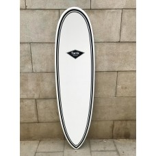 Tabla Surf Epoxy Tactic Scorpion 6'6 Blanca