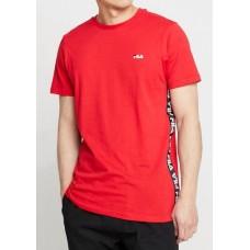 Camiseta Manga Corta Fila Talan Tee Roja