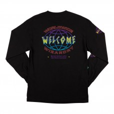 Camiseta Manga Larga Welcome Global Negra