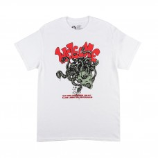 Camiseta Manga Corta Welcome Medusa Blanca
