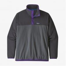Sudadera Patagonia Micro D Snap-T Pullover Forge Grey