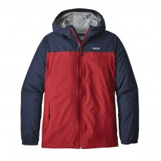 Chaqueta Patagonia Light & Variable Roja Azul