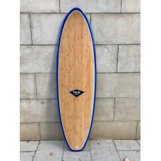 Tabla Surf Tactic Evolutiva Epoxy Bamboo 6'8 Azul