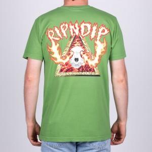 Camiseta Rip N Dip Inferno Verde