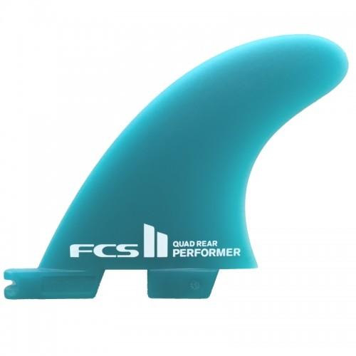 Quillas Surf FCS II Performer Neo Glass Quad Azules