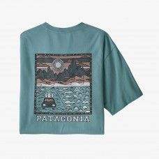 Camiseta Manga Corta Patagonia Summit Road