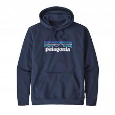 Sudadera Patagonia P-6 Logo Azul