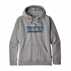 Sudadera Patagonia P-6 Logo Gris