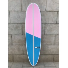 Tabla Surf Full & Cas Cyclone 7'2 Rosa Azul