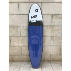 Tabla Surf Evolutiva Manual Pro Soft 7'0 Azul Negra Blanca