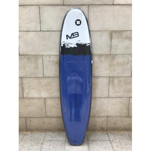 Tabla Surf Evolutiva Manual Pro Soft 7'0 Azul Negra Blanca