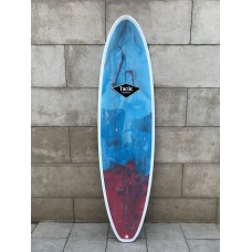 Tabla Surf Evolutiva Epoxy Tactic 7'2 Azul Roja