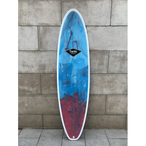 Tabla Surf Evolutiva Epoxy Tactic 6'8 Azul Roja