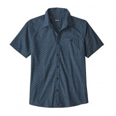 Camisa Patagonia Men's Go To Shirt Space Micro Stone Blue