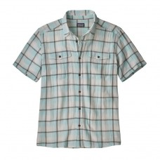 Camisa Patagonia Men's Steersman Protester Plaid Atoll Blue