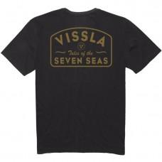 Camiseta Manga Corta Vissla Plain Sailing Pigment Dye