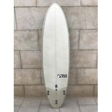Tabla Surf Full & Cas Evo 6'8 Blanca Gris