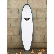 Tabla Surf Tactic Evolutiva Blanca Azul 7'2