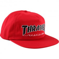 Gorra Thrasher Outlined Snapback Roja