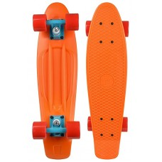 Mini Longboard Completo Long Island Buddy Naranja 22''