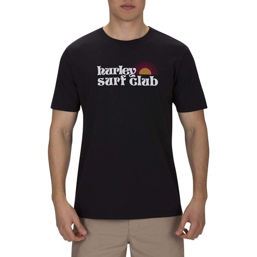 Camiseta Hurley Benzo Spin Shine Negra