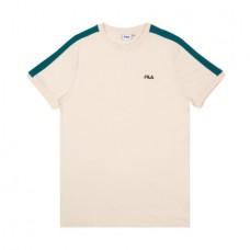 Camiseta Manga Corta Fila Salus Beige