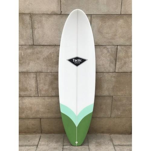 Tabla Surf Tactic Evolutiva 6'8 Verdes