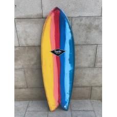 Tabla Surf Tactic Retro Fish 5'6 Multicolor