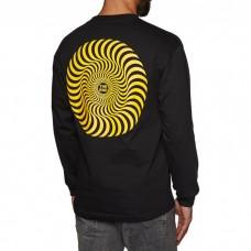 Camiseta Manga Larga Spitfire Swirl Negra