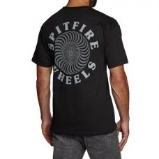 Camiseta Manga Corta Spitfire Classic OG Logo Negra