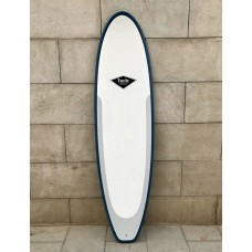 Tabla Surf Evolutiva Epoxy Tactic 6'8 Blanca Azul