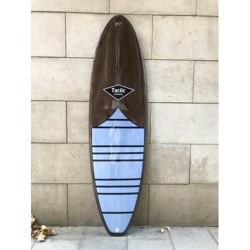 Tabla Surf Tactic Evolutiva 6'8 Marrón Lila