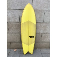 Tabla Surf Full & Cas F-Seven 5'8 Amarilla