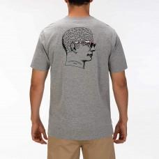 Camiseta Manga Corta Hurley Thinker Tee Gris