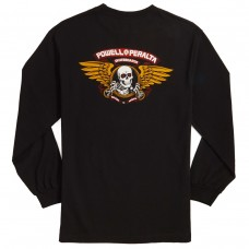 Camiseta Manga Larga Powell Peralta Winged Ripper Negra