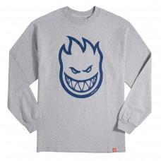 Camiseta Manga Larga Spitfire Bighead Gris