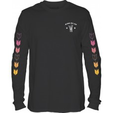 Camiseta Larga Hurley Kahuliwae Negra
